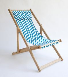 Handmade Deck Chair By Gallant U0026 Jones