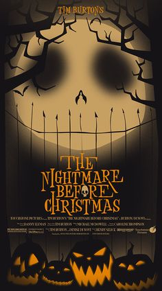 Jacob McAlister takes on  Tim Burton's Nightmare Before Christmas  Only 30 available!!  Signed and numbered