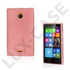 Bremer (Vaaleanpunainen) Nokia X2 Suojakuori