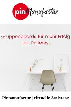 Boards mit einheitlichen Inhalten bevorzugen, dann haben Sie mehr Erfolg, durch Gruppenboards. Business Marketing, Online Business, Im Online, Pinterest Marketing, Entrepreneurship, Product Launch, Social Media, Tips, Female