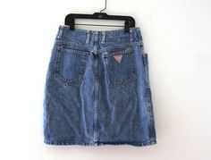 Vintage 80s Guess jean skirt