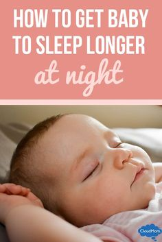 Baby not sleeping through the night? Tips on this and how to follow a baby schedule for better sleep!