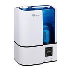 TaoTronics Cool Mist Humidifier with LED Display Ultrasonic Air Humidifiers with No Noise 4L Large Capacity Mist Level Control and Timer Setting US Plug 120V UPGRADED VERSION