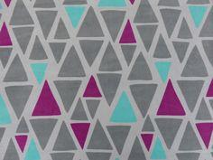 Bio Nicki Giant Triangle von :: stoffbüro :: auf DaWanda.com