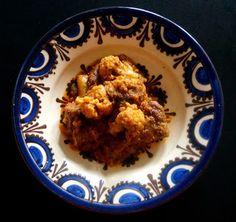 yummy Cauliflower & lamb curry