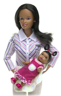 Barbie Happy Family - African American First Birthday Set
