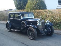 1932 Rolls Royce 20/25 Sports Saloon