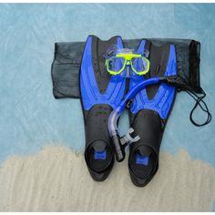Sea Scapes Fins Mask and Snorkel Set