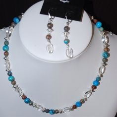Turquoise Crazy Lace from Jewellery by Cloé for $15 on Square Market