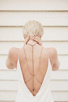 Body Chain - colar para o corpo. Tipos e como usar?!