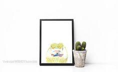 Watercolor Print, Watercolor Paper, Watercolor Paintings, Cute Alpaca, Hedgehog, Candle Holders, Creatures, Canvas Prints, Digital