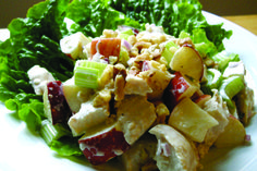 Waldrof Chicken Salad - Nells Old Fashion Recipes Quick Dinner Recipes, Lunch Recipes, Cooking Recipes, Healthy Recipes, Summer Recipes, Drink Recipes, Healthy Foods, Meat Salad, Soup And Salad