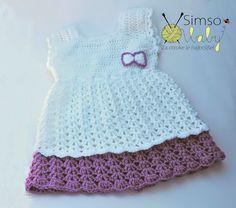 Simso-Baby: oblačila za krst - oblekica