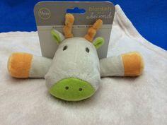 Blankets and Beyond Security Blanket Giraffe Nunu Cream Lovely #BlanketsandBeyond