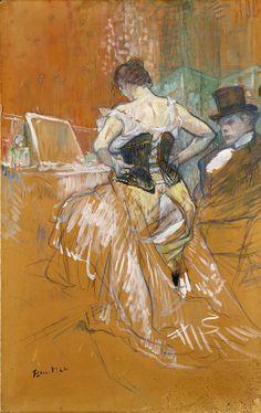 Henri de Toulouse-Lautrec, Une Conquête de passage, 1896. Toulouse, musée des Augustins.