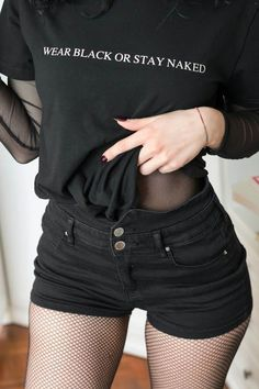 Get inspired from my collection of grunge outfits. You can submit your own outfits and ask any question around the topic. Grunge Outfits, Edgy Outfits, Mode Outfits, Summer Outfits, Fashion Outfits, Goth Girl Outfits, Black Outfit Grunge, Goth Girls, Hipster Outfits