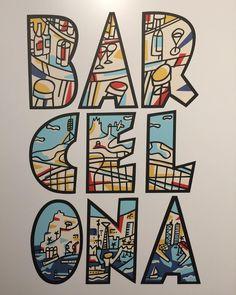 Exposición 100 años de cartelismo en #barcelona  #montjuic #exposicion #diseño #cartel #mariscal #bar #cel #ona