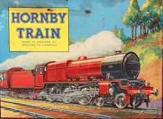 Hornby Train. Love the old artwork