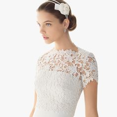 Fashionably Yours - London Lace High Neck Bridal Top, $119.95 (http://fashionably-yours.com.au/london-lace-high-neck-bridal-top/)
