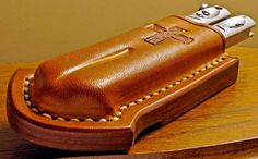 custom leather pouches for multitools - Google Search
