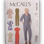 McCall's M7330 Misses' Button-Up Utility Jumpsuits and Rompers - ML292314