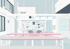 Name: LK+RIGI DESIGN Office Design Type: Office Designers: Kai Liu, RIGI DESIGN team Design Company: RIGI DESIGN (www.rigi-design.com) Area: 350㎡ Design dat...