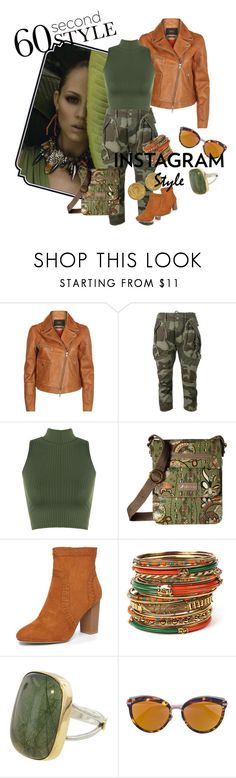 """""""Safari in 60 Seconds"""" by teenanicole-masaniajua ❤ liked on Polyvore featuring SET, Faith Connexion, WearAll, Sakroots, Dorothy Perkins, Amrita Singh, Christian Dior, Karl Lagerfeld, 60secondstyle and PVShareYourStyle"""