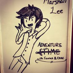 Marshall Lee Adventure Time with Fionna and Cake