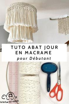 Diy Home Crafts, Diy Crafts To Sell, Boho Diy, Boho Decor, Diy Abat Jour, Macrame Design, Macrame Patterns, Design Your Home, Art Wall Kids