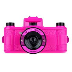 {Sprocket Rocket Pink} by Lomography - these are so much fun!