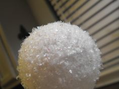 Faux snowballs tutorial - so cute!