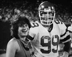 Eddie Van Halen & Mark Gastineau