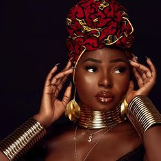 😍 Vibes of African royalty 👑 African Beauty, African Fashion, Black Girl Magic, Black Girls, My Black Is Beautiful, Beautiful Women, Beautiful Lips, Black Royalty, African Royalty