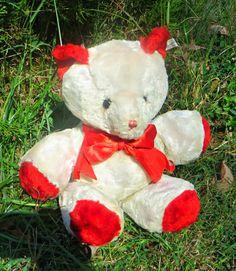 The Character Novelty Company Valentine Bear made in 1955, the very first Valentine Bear made by Character