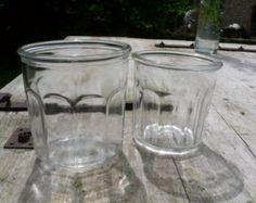 Gift idea, Gift for Gardener, Glass Jar Collection, Antique Jam Jars, confiture pots, French vintage, Wedding decor, rustic, outdoor wedding