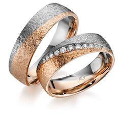 Trauringe hochzeit modern  Pin von Rings N Bands auf Modern | Pinterest