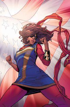 Ms Marvel (Cover Artist: Joelle Jones) Release Date: Marvel Comics, Marvel Comic Books, Marvel Characters, Marvel Heroes, Comic Books Art, Cosmic Comics, Marvel 3, Book Art, Captain Marvel
