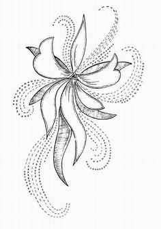 Awesome Most Popular Embroidery Patterns Ideas. Most Popular Embroidery Patterns Ideas. Pearl Embroidery, Tambour Embroidery, Bead Embroidery Patterns, Hand Embroidery Designs, Beaded Embroidery, Embroidery Stitches, Tambour Beading, Flower Patterns, Flower Designs