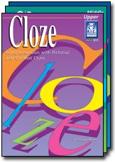 Cloze. Reading strategies include context clues, syntactic and semantic skills, and word recognition, high-interest topics to motivate students, imaginative blackline master passages will help to expand vocabulary and promote written expression and teachers notes and answers.