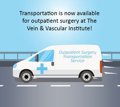 Announcing.....Transportation will now be available to and from The Vein & Vascular Institute for our patients undergoing outpatient surgery that requires sedation! You can find out more when calling to schedule your surgery. #SpringHillVascularSurgery #VeinInstituteSpringHill #VascularSurgeons https://www.veinandvascularofspringhill.com/