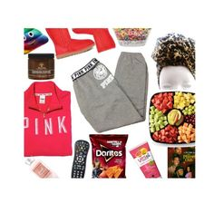 """""""The dream night set😍"""" by myaaaaa003 ❤ liked on Polyvore featuring Victoria's Secret, UGG, Yes To and Victoria's Secret PINK"""