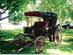carriages with lanterns | Horse Drawn Carriages, Buggy's & Surreys