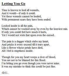 A poem about heartbreak. For more original poetry, visit: http://www.pinterest.com/dhvaniudani/poetry/