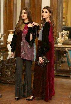 Black Pakistani Dress, Pakistani Dresses, Indian Fashion Dresses, Asian Fashion, Fashion Outfits, Classy Suits, Daily Outfit, Simple Shirts, Kurta Designs