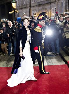 1 January 2015 - New Year's Reception at Amalienborg Palace