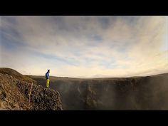 GoPro HD: Matthias Giraud - B.A.S.E. Jumping in Iceland