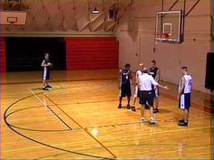 Post Triangle Shooting Basketball Drill