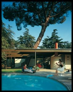 C. Buff / C. Straub / D. Hensman, Case Study House No.20, Altadena, California