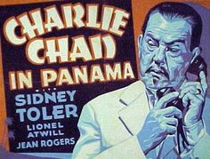 Spies are out to destroy the Panama Canal in 1940's Charlie Chan In Panama.