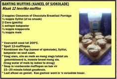 Banting Recipes, Diet Recipes, Recipies, Pap Recipe, Banting Breakfast, Breakfast Porridge, How To Make Chocolate, Low Carb Keto, Healthy Eating